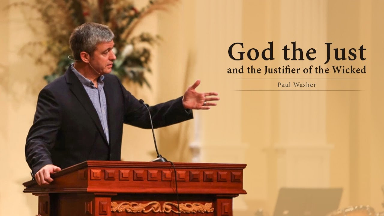 God the Just and the Justifier of the Wicked